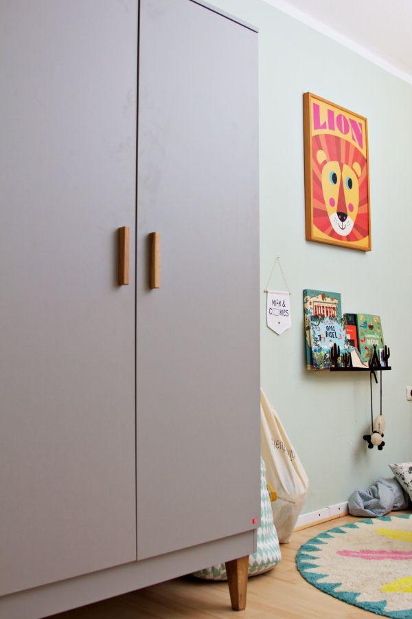 Kinderzimmer Makeover mit Wayfair Kinder schrank