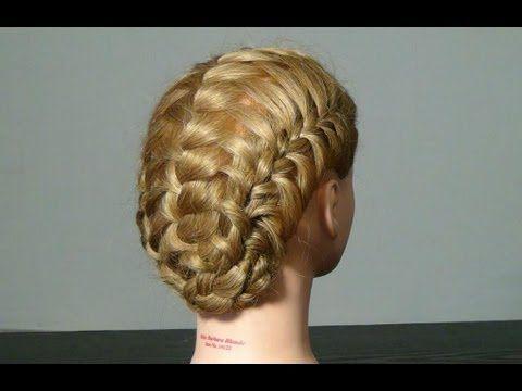 Braided hairstyle for long hair. Looks like a good battle braid!