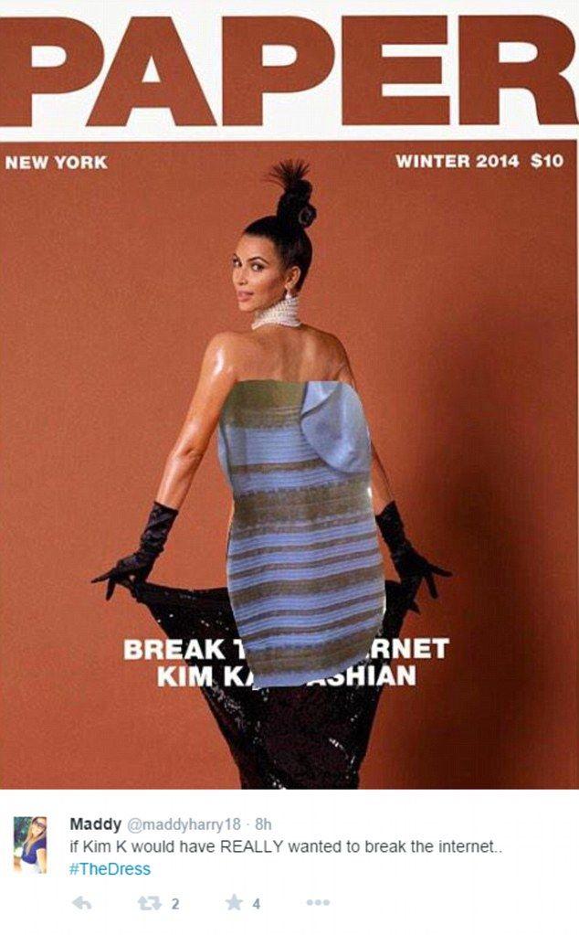 Kim Kardashian participó en el debate y también ha sido protagonista de memes