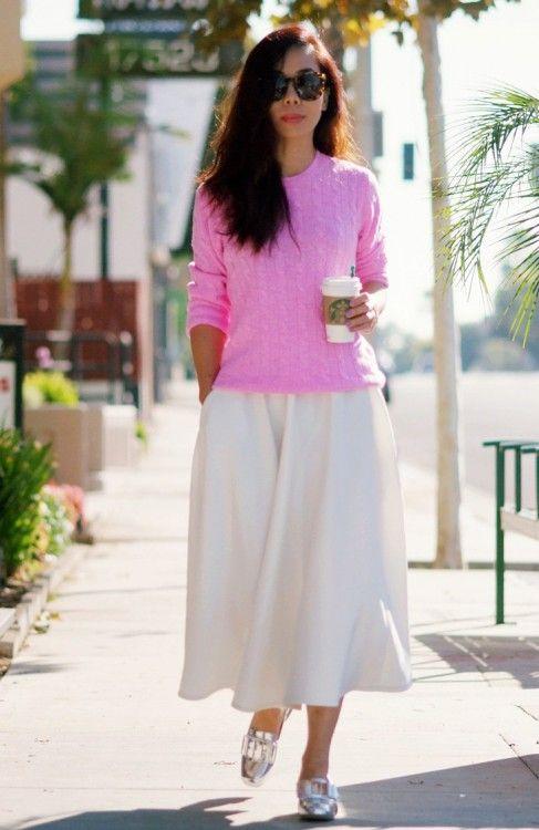 вязаная мода лето, стиль модные тенденции, женская уличная мода 2016 (фото 3)