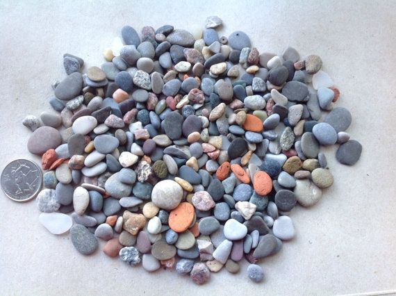 200 plus tiny beach stones Mosaics Terrarium stones Aquarium supplies Mosaic supplies Beach stone art Crafting stones Pebble art