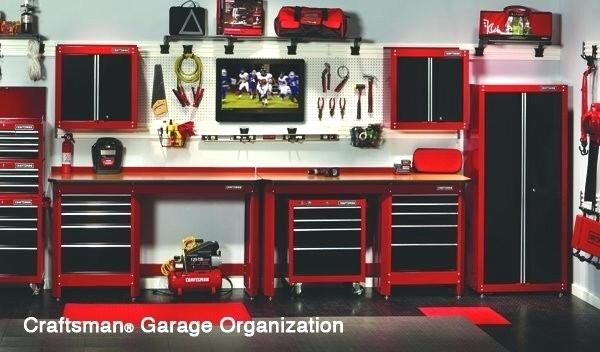 craftsman garage cabinet sears tool storage cabinets ball bearing ...