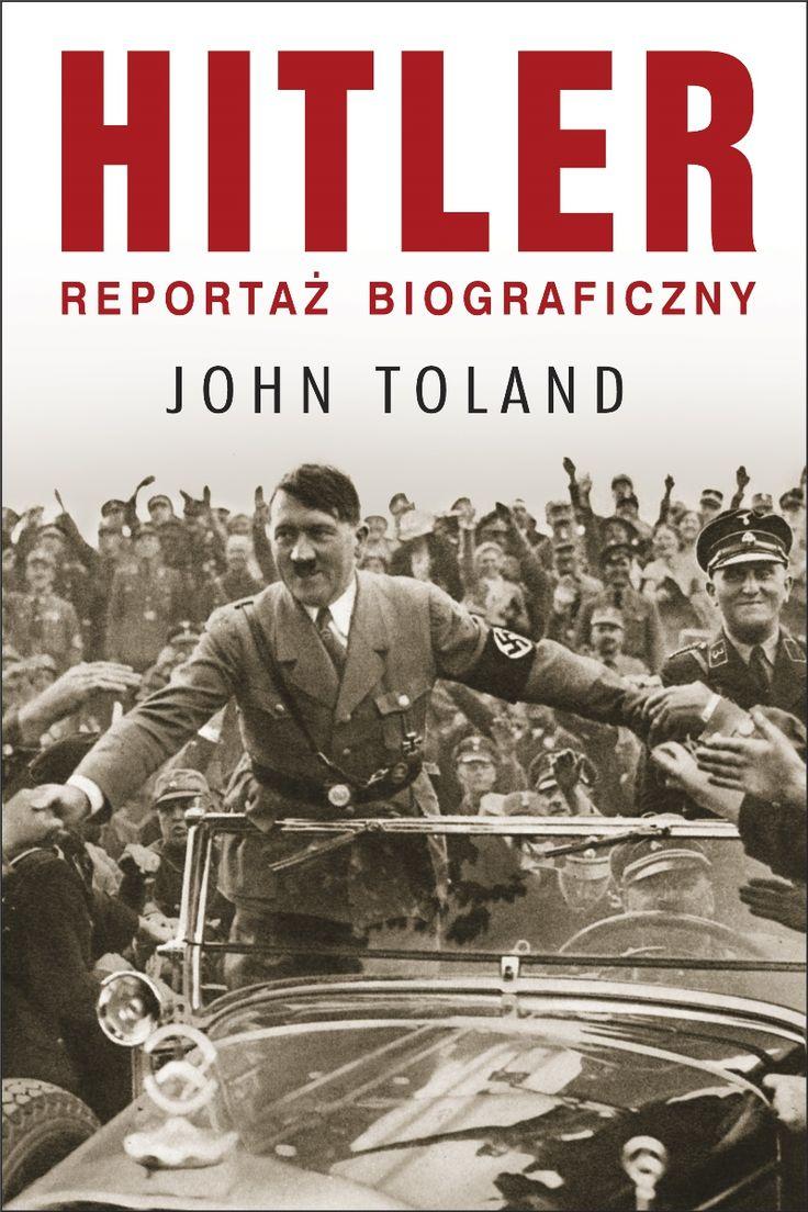 """""""Hitler. Reportaż biograficzny"""" Johna Tolanda to intrygująca, po mistrzowsku napisana, kompletna biografia Adolfa Hitlera. Oparta na wieloletnich badaniach książka zdobywcy Nagrody Pulitzera, pomaga zrozumieć fenomen przywódcy III rzeszy, wyznaczając jednocześnie nowe standardy biografiom postaci historycznych. Ebook do nabycia w cdp.pl"""