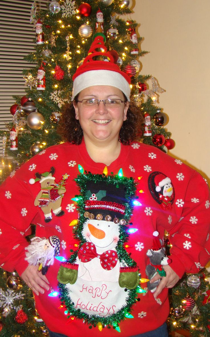 best 25 diy ugly christmas sweater with lights ideas on pinterest