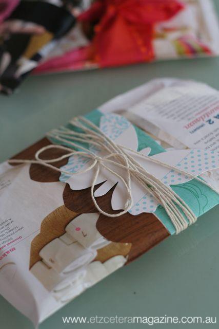Magazine pouch tutorial on the Etz blog
