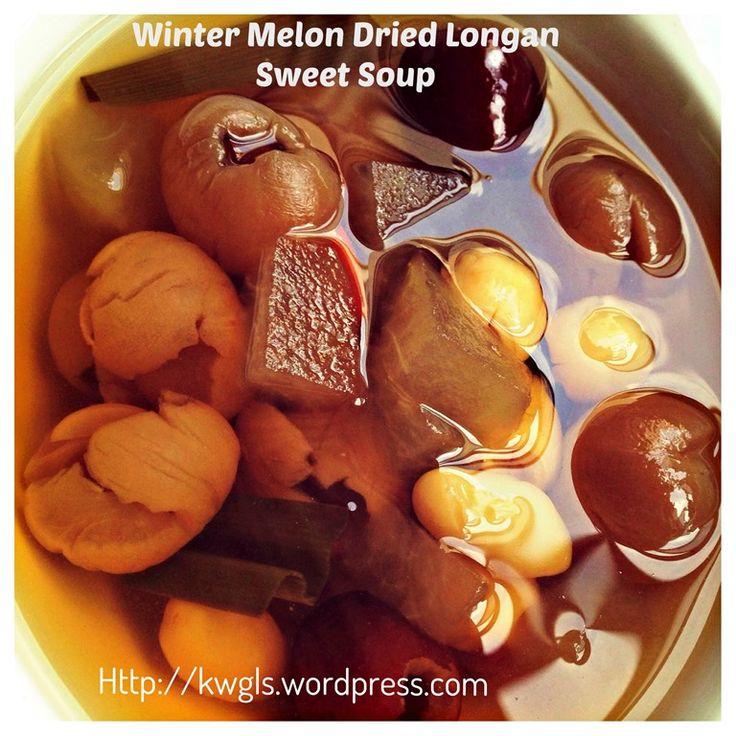 Winter Melon Longan Sweet Soup( 冬瓜汤水)
