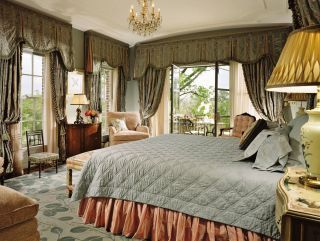 Traditional Bedroom by Michael J. Siller and Ike Kligerman Barkley in Houston, Texas