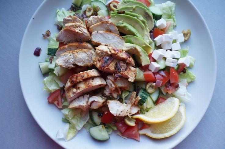 Mediterrane kip salade – Food and Traveling