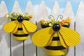 Macetitas abejas