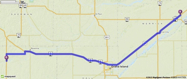 Driving directions from clarks nebraska to pleasanton