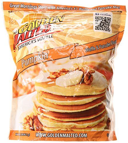 Carbons Golden Malted Pumpkin Waffle and Pancake Flour 32 Ounce >>> For more information, visit image link.(This is an Amazon affiliate link and I receive a commission for the sales)