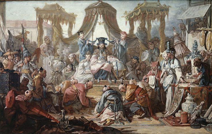83 Boucher, L'audience de l'empereur