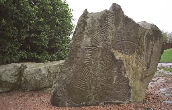 The Brandsbut Pictish Ogham Stone - Scotland
