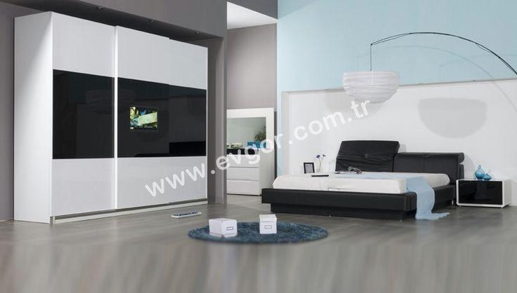 Evgör Mobilya'da Modern Yatak Odası Takımlarını uygun fiyat ve 36 ay'a varan taksit avantajlarıyla alabilirsiniz.
