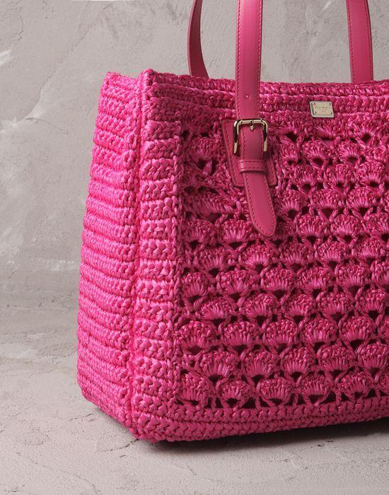 ALMA RAFIA  - Borse grandi in tessuto - Dolce&Gabbana - Estate 2014
