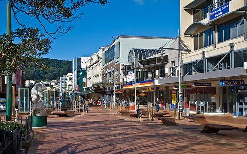 Courtenay Place, Wellington, New Zealand