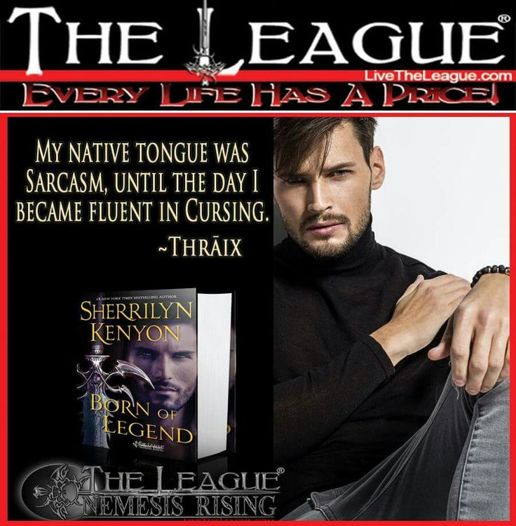 Quote from sherrilyn kenyon's  the league series of books