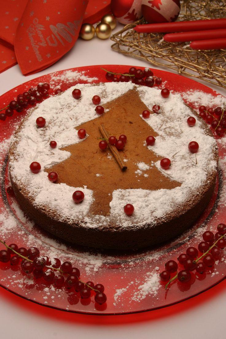 Um motivo característico da estação desenhado num bolo rico e açucarado vai contribuir ainda mais para passar um doce Natal