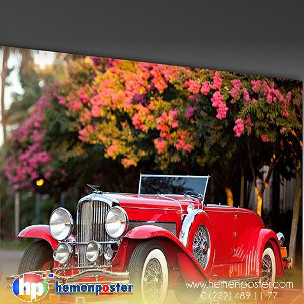 Sizde hayalinizdeki klasik arabanızla duvarınızı süslemek istemez misiniz? Spariş İçin:http://bit.ly/2inu7QK #hemenposter #arabatabloları #duvartabloları #tablolar