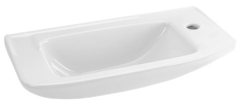 Umývátko Eurovit 50x23,5 cm, otvor pro baterii vpravo