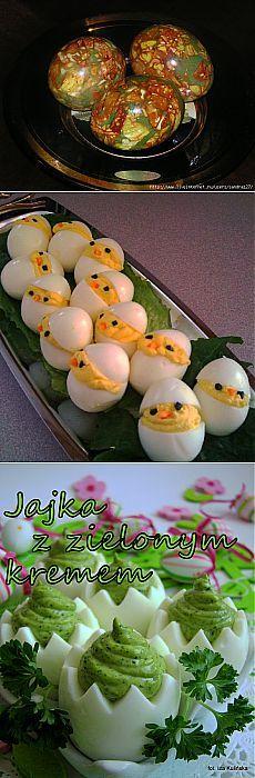 Красим яйца и блюда из яиц для праздничного стола.