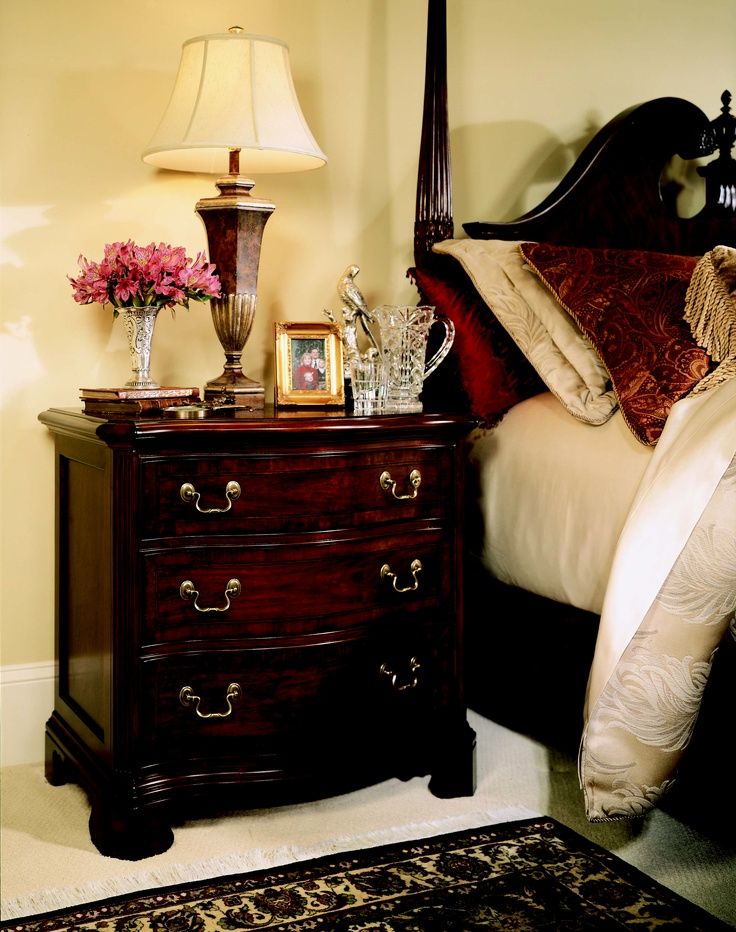 Cherry Grove Collection 45th   SIDE TABLE #AmericanDrew #furniture  #bedroomsuite #bedroom #