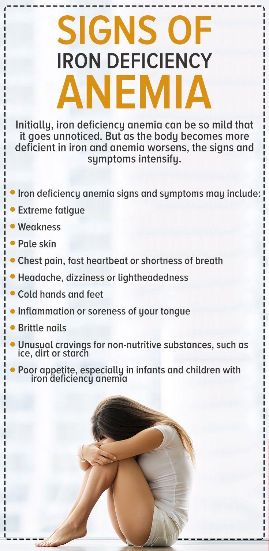 Signs of Iron Deficiency Anemia  https://myjeffreyjones.myshaklee.com/us/en/shop/healthyfoundations