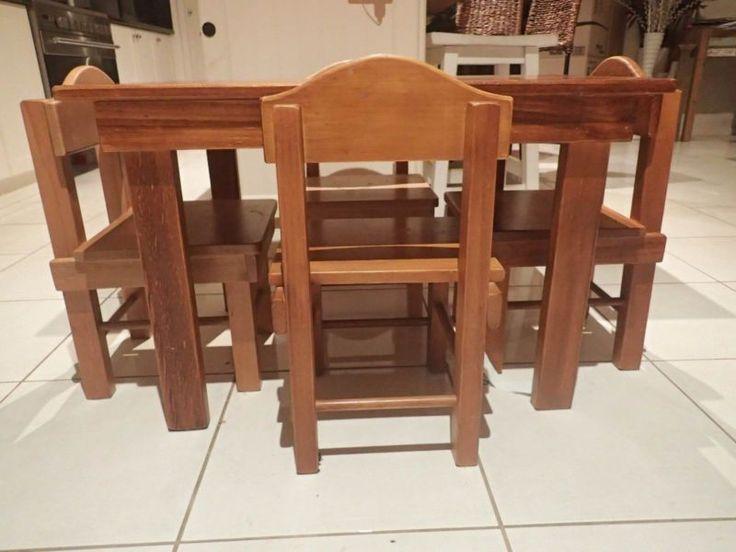 Kids Wooden Table U0026 Chairs   Other Baby U0026 Children   Gumtree Australia  Bendigo City   Bendigo 3550   1085883370   Play Room   Pinterest   Wooden  Tables And ...