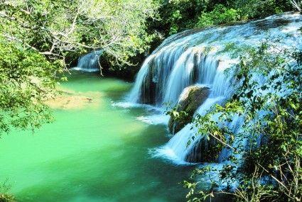 water waterfall nature