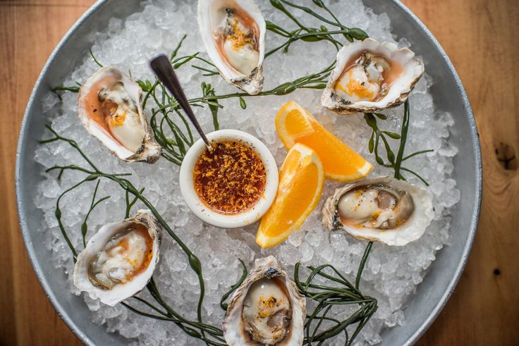 Negroni Mignonette for your oysters from Chris Cosentino for #NegroniWeek