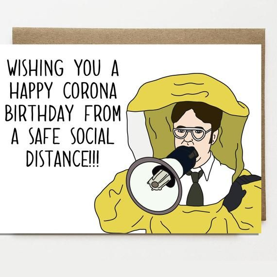 Funny Corona Birthday Card Card For Friend Greeting Card Etsy In 2021 Funny Happy Birthday Wishes Birthday Wishes Funny Birthday Wishes For Friend