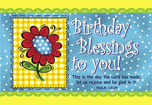 Cards Pass It On Birthday Blessings 3 X2 Pack Of 25 Birthday Blessings Birthday Greetings For Facebook Christian Birthday Wishes