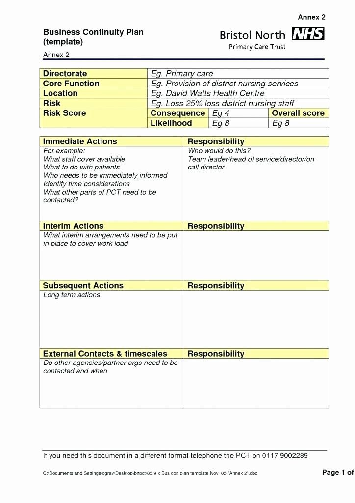 Simple Disaster Recovery Plan Template Inspirational Disaster Recovery Plan Template For Small Busin In 2021 Disaster Recovery How To Plan Business Continuity Planning
