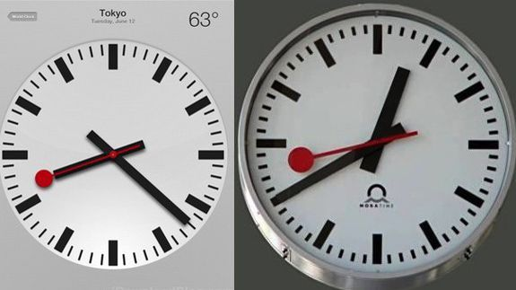 One More Thing: Apple in the dock over knock-off clock | The Swiss National Rail company reckons Apple's ripped its clock off. Buying advice from the leading technology site