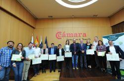 La Cámara de Comercio de Santa Cruz y el Cabildo de Tenerife distinguen a 22 empresas sostenibles | Observatorio de Calidad de Tenerife