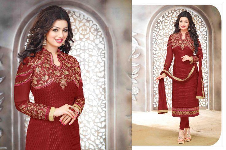 Wedding Salwar Suit Pakistani Designer Anarkali Bollywood Kameez Indian 1708 #KriyaCreation #StraightSuit