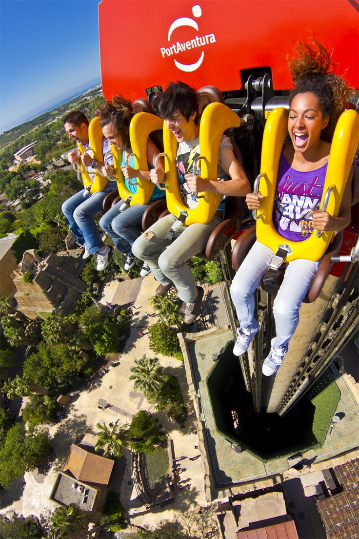 Hurakan Condor is a 'giant drop' ride located in PortAventura, Catalonia, Spain.