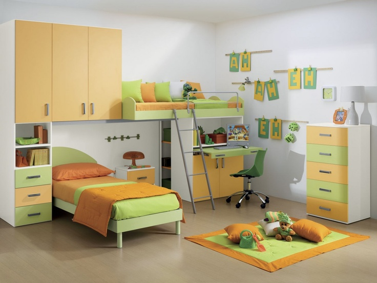16 best Camerette con Soppalco images on Pinterest | Bedroom designs ...