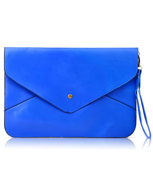 Cobalt Envelope Clutch Bag - Another bag in our favorite color for fall!