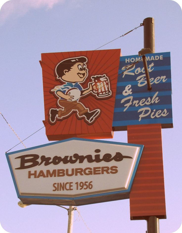 Brownies Hamburgers Since 1956  Ate here many times when living in Tulsa.  They had great Hamburger Steaks.