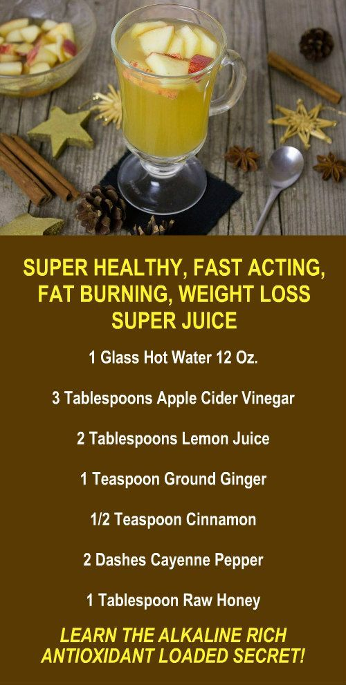 Super Healthy, Fast Acting, Fat Burning, Weight Loss Super Juice. Learn about th...