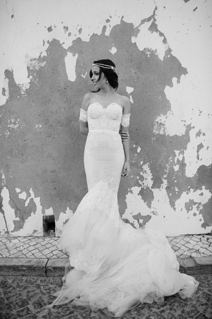 Wedding Day  www.lifeslusthaves.com Inbal Dror Dress