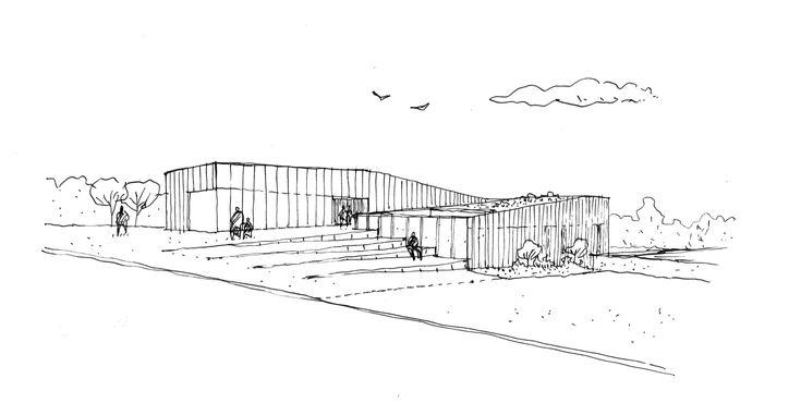 Gallery - Cultural Center at Saint-Germain-lès-Arpajon / Ateliers O-S architectes - 49