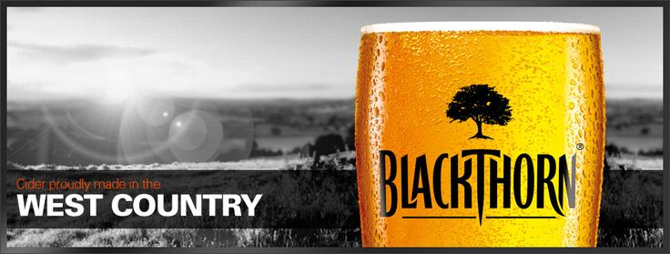 Blackthorn Cider (Hard to locate in the U.S., I've noticed. Very dry and delicious!)