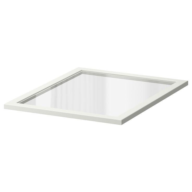 KOMPLEMENT Tablette en verre - 50x58 cm - IKEA 20$