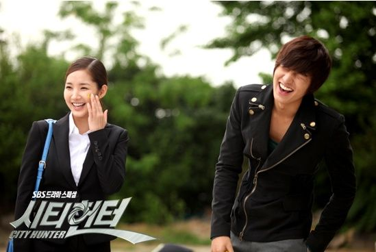 city hunter lee min ho and park min young
