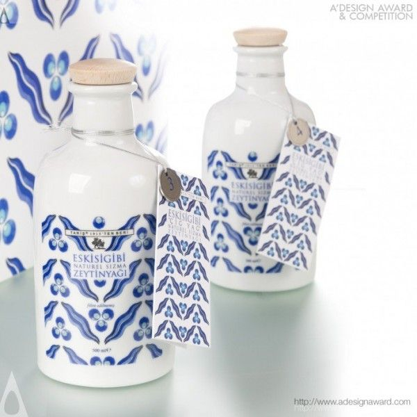 Olive Oil Bottle:Çig Yag by Taris Zeytin a.s - Design Speech