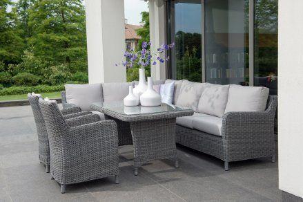 4-Seasons Indigo loungeset. De loungeset waar u het beste van twee werelden heeft. lounge diningset Indigo# vdgarde