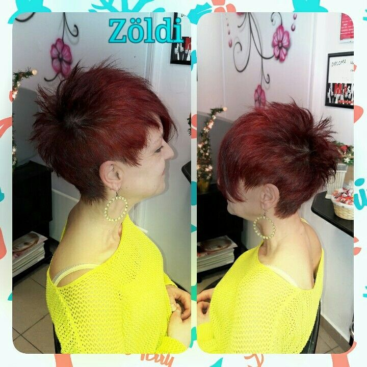 #zöldiszilvia #mywork #munkám #haircut #hajvágás