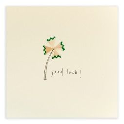 Pencil Shavings Cards - Good Luck